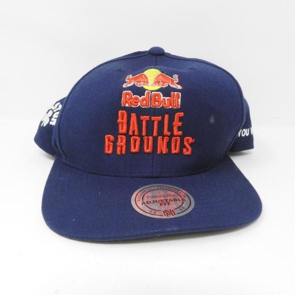 3258607c3 Redbull Battle Grounds Flat Brim Snapback Hat NWOT